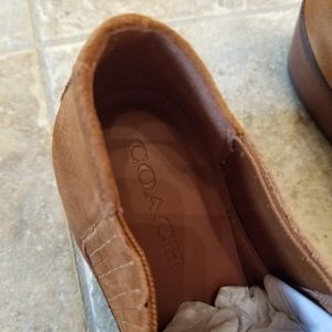 Coach Shoes - NWT COACH TAN LEATHER SUEDE NEW ANKLE BOOTIES